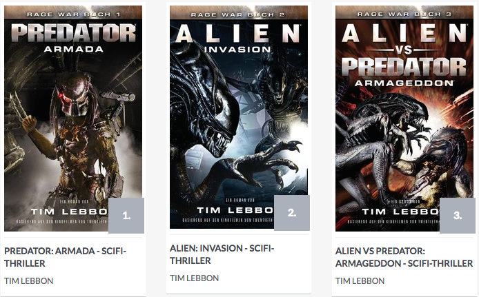Rage War Trilogie Predator Alien Tim Lebbon online lesen