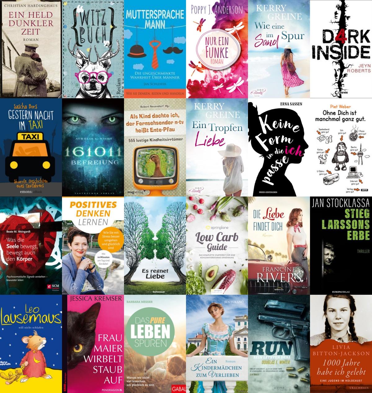 Die 24 besten Bücher 2018