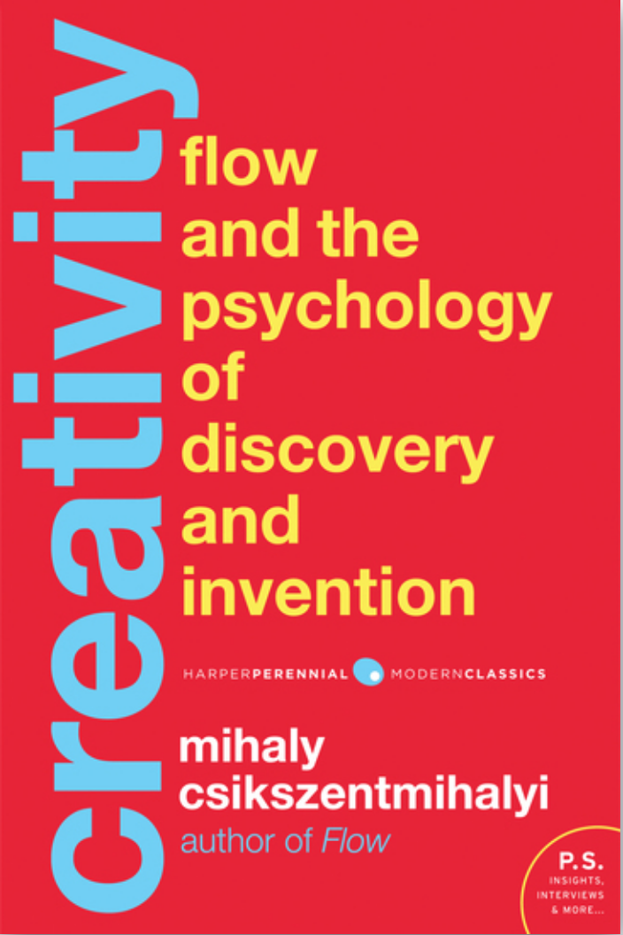 Book: Creativity by Mihaly Csikszentmihalyi. Read it at 24symbols!