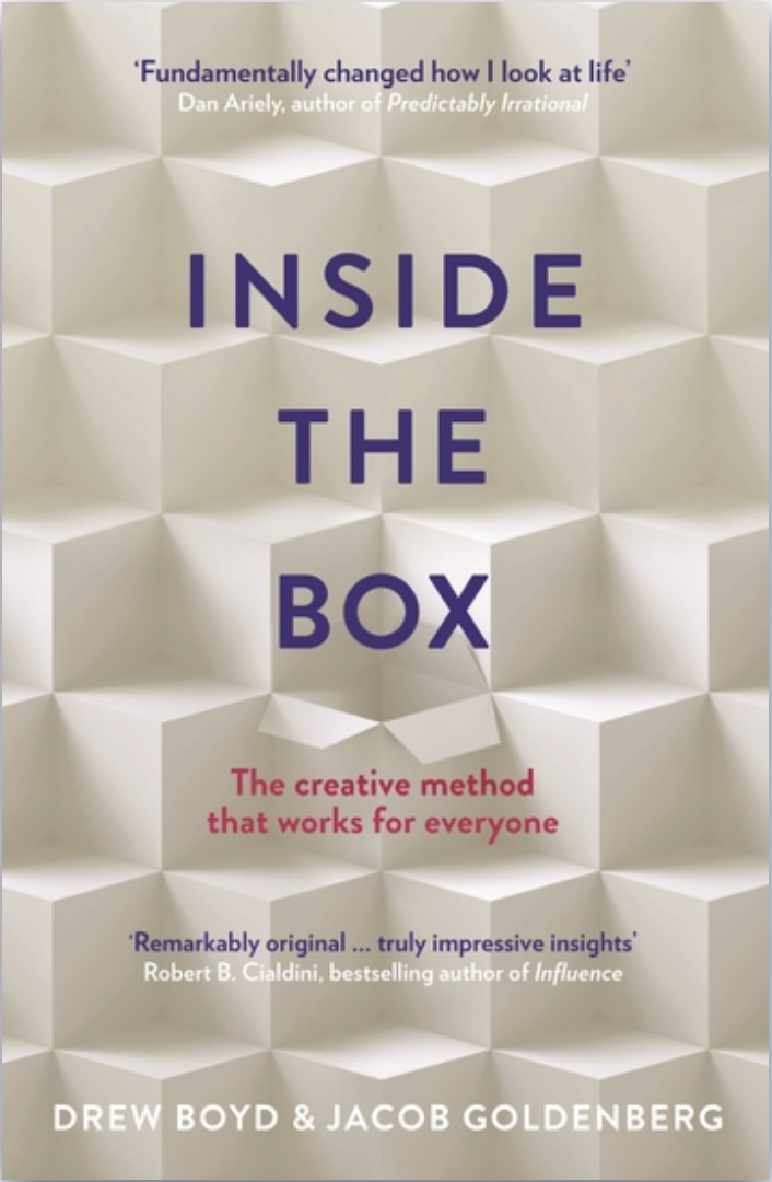 Book: Inside the Box, by Drew Boyd. Read it at 24symbols!