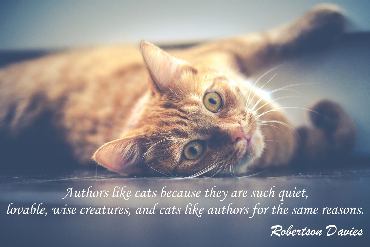 Robertson Davies Cat Quote